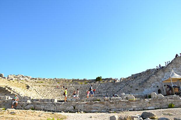 Il teatro di Segesta