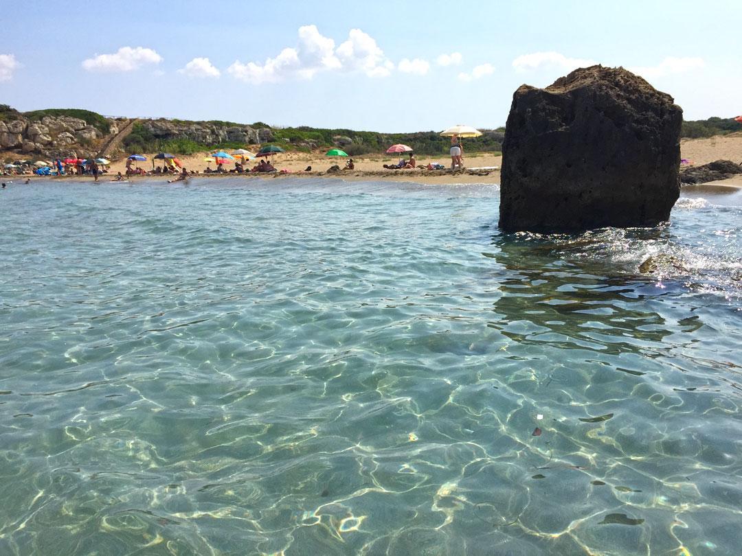 Il mare a Calamosche, Riserva di Vendicari